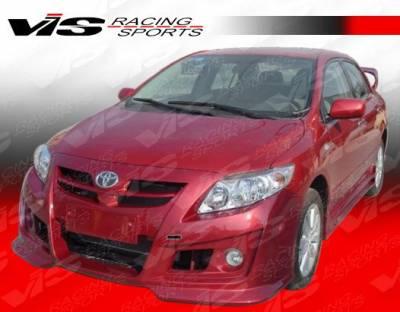 Corolla - Front Bumper - VIS Racing - Toyota Corolla VIS Racing AMS Front Bumper - 09TYCOR4DAMS-001