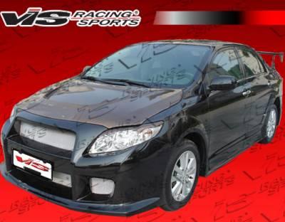 Corolla - Front Bumper - VIS Racing. - Toyota Corolla VIS Racing GT Widebody Front Bumper - 09TYCOR4DGTWB-001