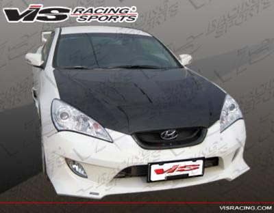 Genesis - Front Bumper - VIS Racing - Hyundai Genesis VIS Racing FX Front Bumper - 10HYGEN2DFX-001