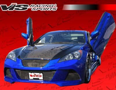 Genesis - Front Bumper - VIS Racing - Hyundai Genesis VIS Racing JPC Front Bumper - 10HYGEN2DJPC-001