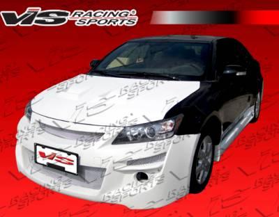TC - Front Bumper - VIS Racing - Scion tC VIS Racing Cyber Front Bumper - 11SNTC2DCY-001