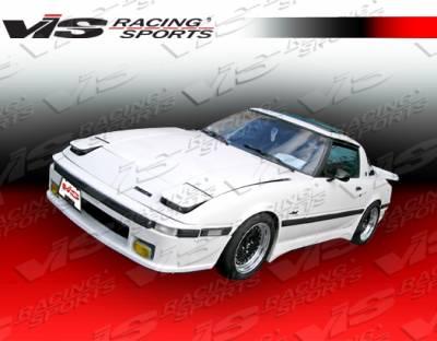RX7 - Front Bumper - VIS Racing - Mazda RX-7 VIS Racing Magnum Front Lip - 79MZRX72DMAG-011