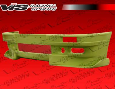 3 Series 4Dr - Front Bumper - VIS Racing - BMW 3 Series VIS Racing Euro Tech Front Bumper - 84BME302DET-001