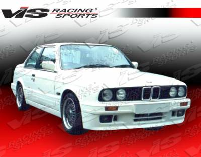 3 Series 4Dr - Front Bumper - VIS Racing - BMW 3 Series VIS Racing M Tech Front Bumper - 84BME302DMTH-001