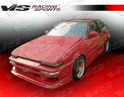 Corolla - Front Bumper - VIS Racing. - Toyota Corolla VIS Racing J Speed Front Bumper - 84TYCOR2DJSP-001