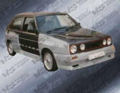 Golf - Front Bumper - VIS Racing. - Volkswagen Golf VIS Racing GT Widebody Front Bumper - 85VWGOF2DGTWB-001