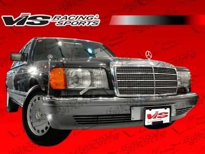 E Class - Front Bumper - VIS Racing - Mercedes-Benz E Class VIS Racing Euro Tech Front Bumper - 86MEW1244DET-001