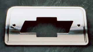 Headlights & Tail Lights - Third Brake Lights - All Sales - All Sales Third Brake Light Cover - Bow Tie Design - Brushed - 94006X