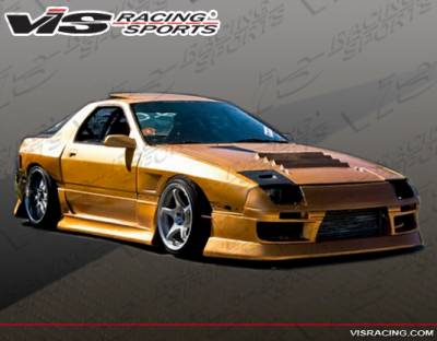 RX7 - Front Bumper - VIS Racing - Mazda RX-7 VIS Racing B Speed Front Bumper - 86MZRX72DBSP-001