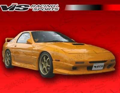 RX7 - Front Bumper - VIS Racing - Mazda RX-7 VIS Racing Ballistix Front Bumper - 86MZRX72DBX-001