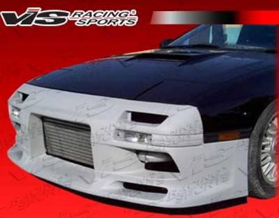 RX7 - Front Bumper - VIS Racing - Mazda RX-7 VIS Racing D Max Front Bumper - 86MZRX72DDMX-001