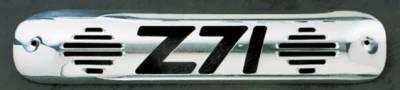 Headlights & Tail Lights - Third Brake Lights - All Sales - All Sales Third Brake Light Cover - Z-71 Design - Polished - 94010P