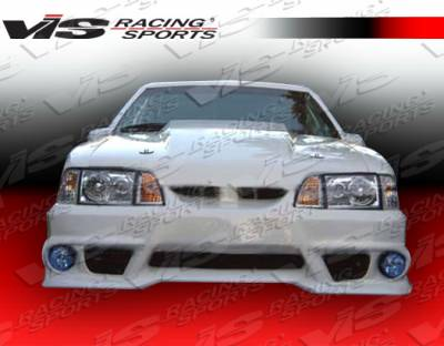 Mustang - Front Bumper - VIS Racing - Ford Mustang VIS Racing GTX Front Bumper - 87FDMUS2DGTX-001