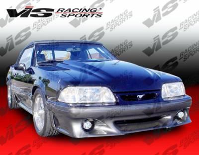 Mustang - Front Bumper - VIS Racing - Ford Mustang VIS Racing Stalker-2 Front Bumper - 87FDMUS2DSTK2-001