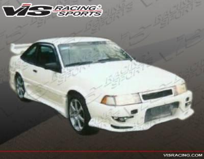 Cavalier 2Dr - Front Bumper - VIS Racing - Chevrolet Cavalier 2DR VIS Racing Invader-2 Front Bumper - 88CHCAV2DINV2-001