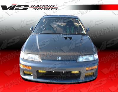 CRX - Front Bumper - VIS Racing - Honda CRX VIS Racing Techno R Front Bumper - 88HDCRXHBJTNR-001