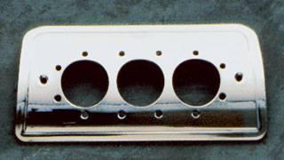 Headlights & Tail Lights - Third Brake Lights - All Sales - All Sales Third Brake Light Cover - Euro Tech Design - Polished - 94220P