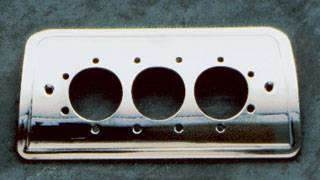 Headlights & Tail Lights - Third Brake Lights - All Sales - All Sales Third Brake Light Cover - Euro Tech Design - Brushed - 94220XP