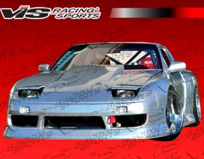 240SX - Front Bumper - VIS Racing. - Nissan 240SX VIS Racing G Speed Widebody Front Bumper - 89NS2402DGSPWB-001