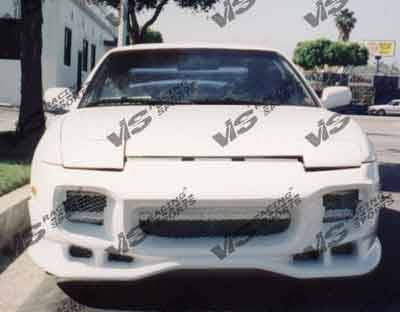 240SX - Front Bumper - VIS Racing - Nissan 240SX VIS Racing Invader Front Bumper - 89NS2402DINV-001