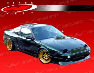 240SX - Front Bumper - VIS Racing - Nissan 240SX VIS Racing JPC Type 2 Front Bumper - 89NS2402DJPC2-001