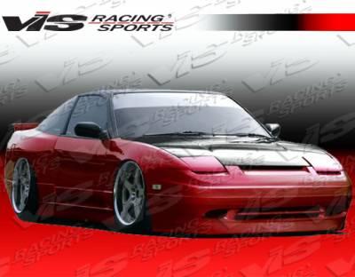 240SX - Front Bumper - VIS Racing - Nissan 240SX VIS Racing Super Front Bumper - 89NS2402DSUP-001