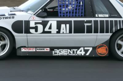 Agent 47 - Ford Mustang Agent 47 Side Skirts - A47SK