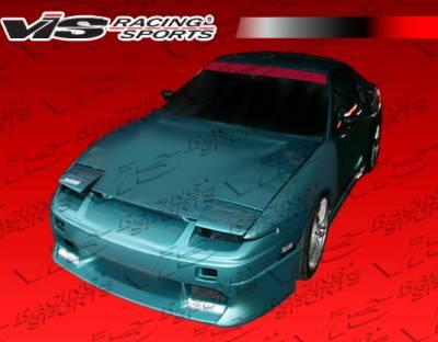 240SX - Front Bumper - VIS Racing - Nissan 240SX VIS Racing Tracer Front Bumper - 89NS2402DTRA-001