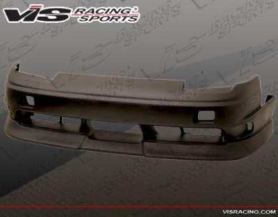 240SX - Front Bumper - VIS Racing - Nissan 240SX VIS Racing Type-X Aero Front Bumper - 89NS2402DTYX-001