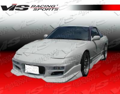 240SX - Front Bumper - VIS Racing - Nissan 240SX VIS Racing V Spec S Front Bumper - 89NS2402DVSCS-001