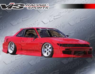 S13 - Front Bumper - VIS Racing - Nissan S13 VIS Racing B Speed Front Bumper - 89NSS132DBSP-001
