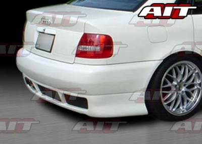 A4 - Rear Bumper - AIT Racing - Audi A4 AIT RS4 Style Rear Bumper - A496HIRS4RB