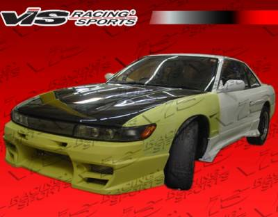 S13 - Front Bumper - VIS Racing - Nissan S13 VIS Racing Demon Front Bumper - 89NSS132DDEM-001