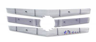 Grilles - Custom Fit Grilles - APS - Cadillac CTS APS Grille - A65257A