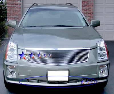 Grilles - Custom Fit Grilles - APS - Cadillac SRX APS Billet Grille - Bumper - Aluminum - A65362A