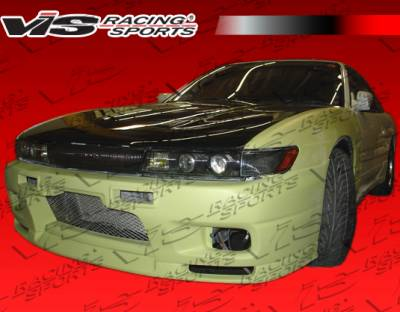 S13 - Front Bumper - VIS Racing - Nissan S13 VIS Racing Omega Front Bumper - 89NSS132DOMA-001