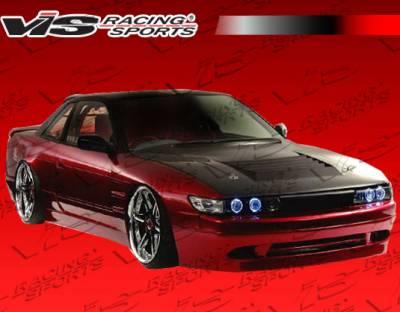 S13 - Front Bumper - VIS Racing - Nissan S13 VIS Racing Super Front Bumper - 89NSS132DSUP-001