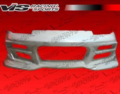S13 - Front Bumper - VIS Racing - Nissan S13 VIS Racing V Spec S Front Bumper - 89NSS132DVSCS-001