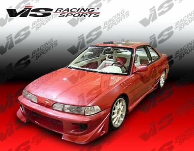 Integra 2Dr - Front Bumper - VIS Racing - Acura Integra VIS Racing Battle Z Front Bumper - 90ACINT2DBZ-001