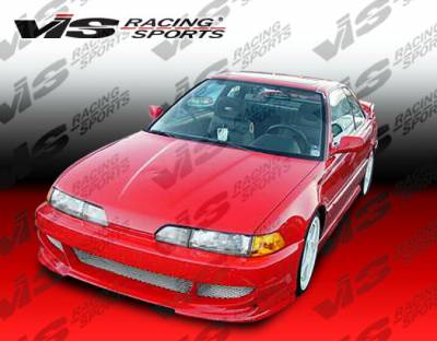 Integra 2Dr - Front Bumper - VIS Racing - Acura Integra VIS Racing Fuzion Front Bumper - 90ACINT2DFUZ-001