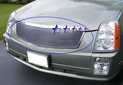 Grilles - Custom Fit Grilles - APS - Cadillac SRX APS Billet Grille - Upper - Aluminum - A85361A