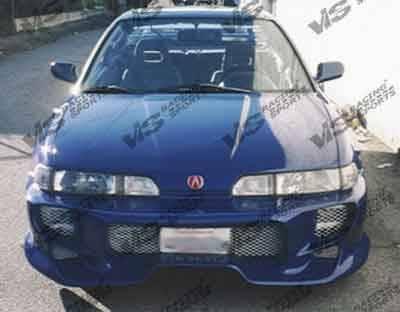 Integra 2Dr - Front Bumper - VIS Racing - Acura Integra VIS Racing Kombat Front Bumper - 90ACINT2DKOM-001
