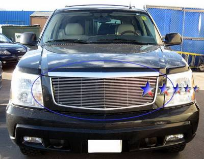 Grilles - Custom Fit Grilles - APS - Cadillac Escalade APS Billet Grille - Upper - Stainless Steel - A85366S