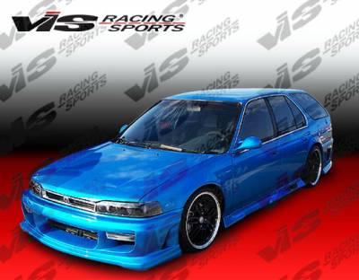 Accord 2Dr - Front Bumper - VIS Racing - Honda Accord 2DR & 4DR VIS Racing Ballistix Front Bumper - 90HDACC2DBX-001