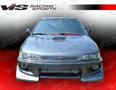 Accord 2Dr - Front Bumper - VIS Racing - Honda Accord 2DR & 4DR VIS Racing Battle Z Front Bumper - 90HDACC2DBZ-001