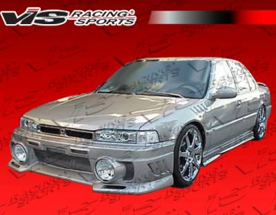 Accord 2Dr - Front Bumper - VIS Racing - Honda Accord 2DR & 4DR VIS Racing EVO Front Bumper - 90HDACC2DEVO-001