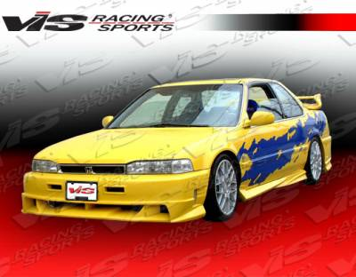 Accord 2Dr - Front Bumper - VIS Racing - Honda Accord 2DR & 4DR VIS Racing Xtreme Front Bumper - 90HDACC2DEX-001