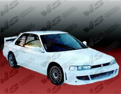 Accord 2Dr - Front Bumper - VIS Racing - Honda Accord 2DR & 4DR VIS Racing Fuzion Front Bumper - 90HDACC2DFUZ-001