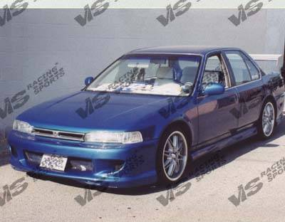 Accord 2Dr - Front Bumper - VIS Racing - Honda Accord 2DR & 4DR VIS Racing Kombat Front Bumper - 90HDACC2DKOM-001