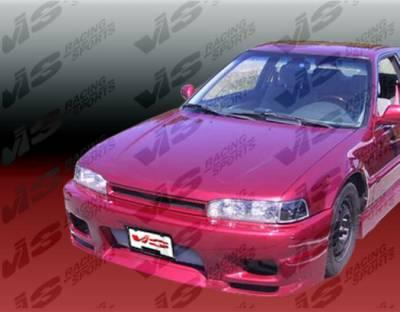 Accord 2Dr - Front Bumper - VIS Racing - Honda Accord 2DR & 4DR VIS Racing Omega Front Bumper - 90HDACC2DOMA-001